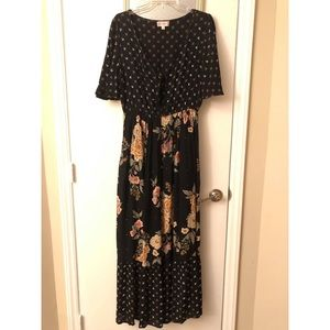 Altar'D State Floral Maxi Dress
